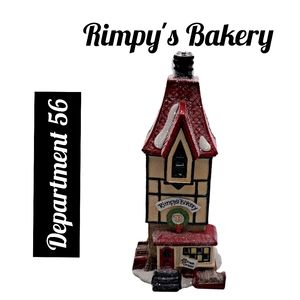 Department 56 ~Rimpy's Bakery ~North Pole Series